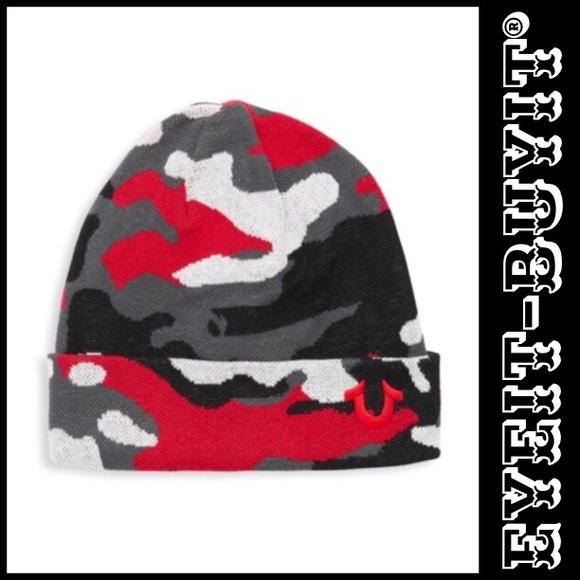 006e05915fb True Religion Camouflage Cotton Watch Cap
